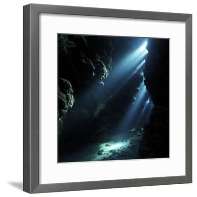 Underwater Cave-Alexander Semenov-Framed Premium Photographic Print