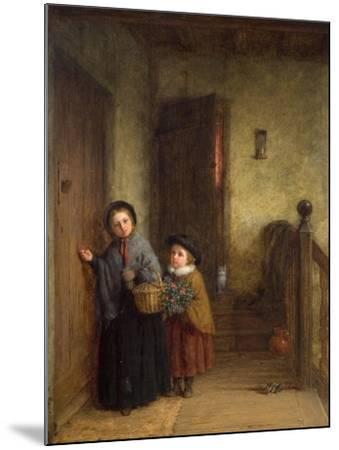 Christmas Visitors, 1869-Frederick Daniel Hardy-Mounted Giclee Print