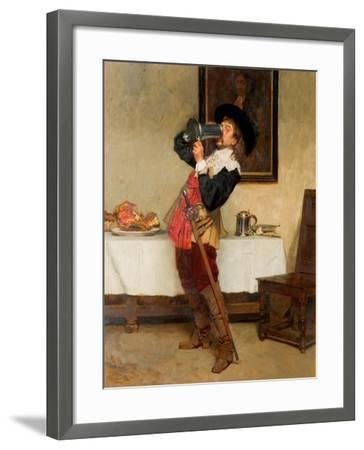 Down to the Dregs, 1880-John Seymour Lucas-Framed Giclee Print