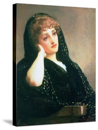 Memories, C.1883-Frederick Leighton-Stretched Canvas Print