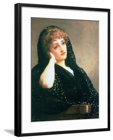 Memories, C.1883-Frederick Leighton-Framed Giclee Print