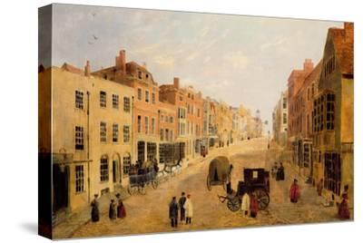Guildford High Street--Stretched Canvas Print