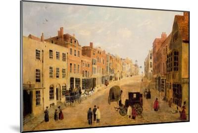 Guildford High Street--Mounted Premium Giclee Print