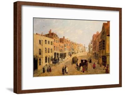 Guildford High Street--Framed Premium Giclee Print