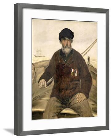 The Father Alcazia-Jean Francois Raffaelli-Framed Giclee Print