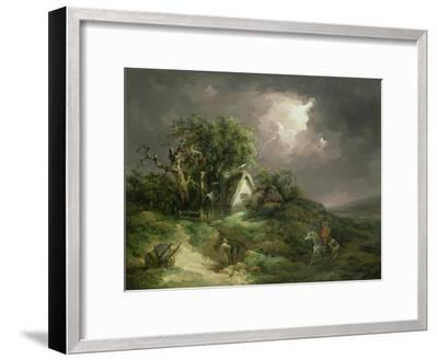 The Coming Storm, Isle of Wight, 1789-George Morland-Framed Giclee Print