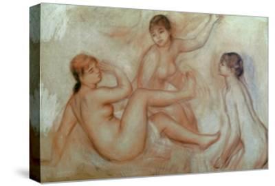 Bathers, C.1887-Pierre-Auguste Renoir-Stretched Canvas Print