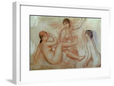 Bathers, C.1887-Pierre-Auguste Renoir-Framed Giclee Print