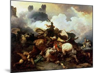 Richard I in Palestine-Philip James De Loutherbourg-Mounted Giclee Print