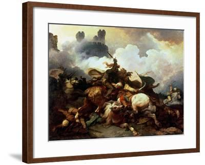 Richard I in Palestine-Philip James De Loutherbourg-Framed Giclee Print