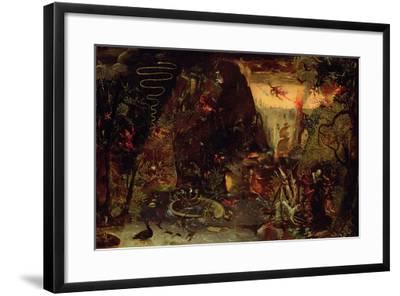 Temptation of St. Anthony-Jakob Isaaksz Swanenburgh-Framed Giclee Print