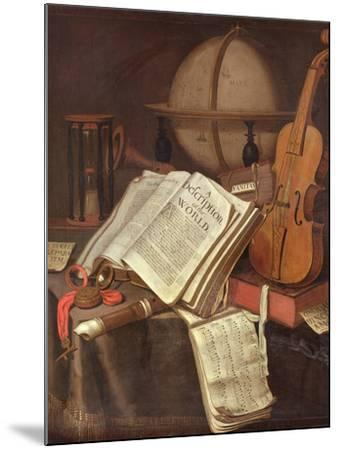 Vanitas, (An Allegorical Still-Life)-Edwaert Colyer or Collier-Mounted Giclee Print