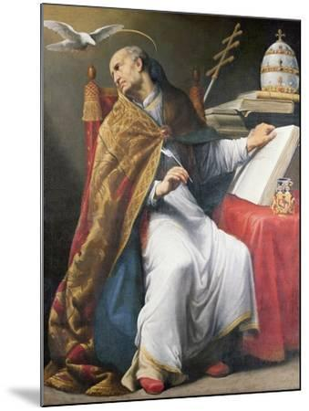 St. Gregory-Andrea Sacchi-Mounted Giclee Print