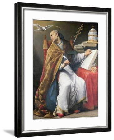St. Gregory-Andrea Sacchi-Framed Giclee Print