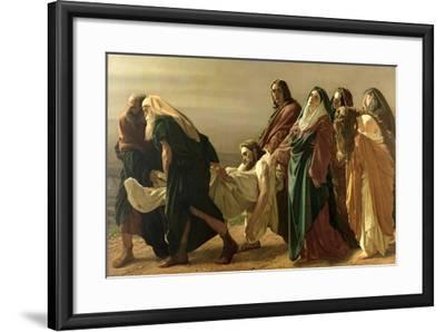 The Entombment, 1883-Antonio Ciseri-Framed Giclee Print