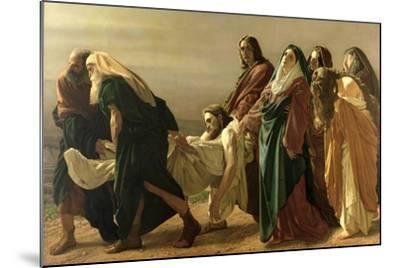 The Entombment, 1883-Antonio Ciseri-Mounted Giclee Print