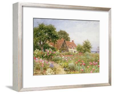 The Cottar's Pride - a Cottage Garden-Henry Sutton Palmer-Framed Giclee Print