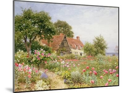 The Cottar's Pride - a Cottage Garden-Henry Sutton Palmer-Mounted Giclee Print