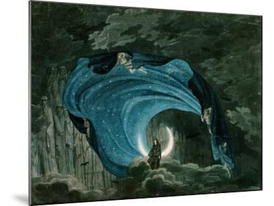 Setting for the Appearance of Astrofiammante, Queen of the Night, from Mozart's 'Magic Flute',…--Mounted Giclee Print
