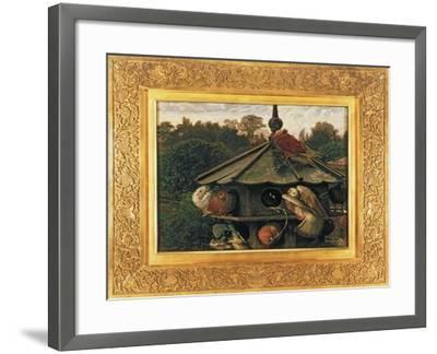 The Festival of St. Swithin or the Dovecote, 1866-75-William Holman Hunt-Framed Giclee Print