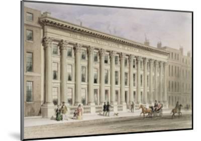 The Royal Institution of Great Britain, Albemarle Street, C.1838-Thomas Hosmer Shepherd-Mounted Giclee Print