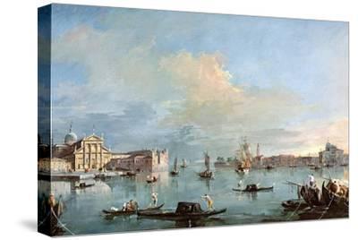 San Giorgio Maggiore-Francesco Guardi-Stretched Canvas Print