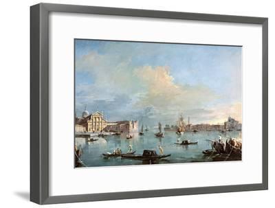 San Giorgio Maggiore-Francesco Guardi-Framed Giclee Print