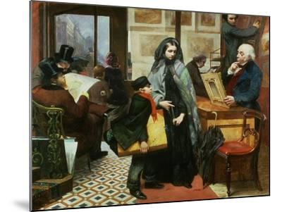 Nameless and Friendless, 1857-Emily Mary Osborn-Mounted Giclee Print