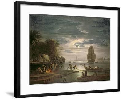 The Night-Claude Joseph Vernet-Framed Giclee Print