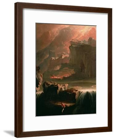 Sadak in Search of the Waters of Oblivion, 1812-John Martin-Framed Giclee Print