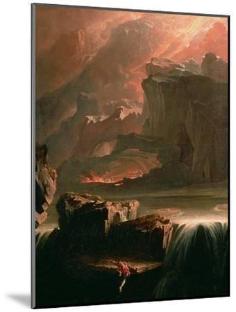 Sadak in Search of the Waters of Oblivion, 1812-John Martin-Mounted Giclee Print