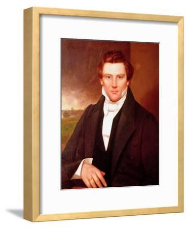 Portrait of Joseph Smith--Framed Giclee Print