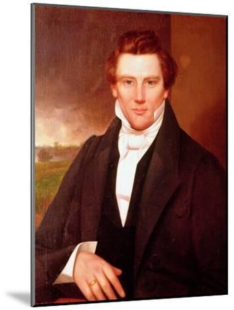 Portrait of Joseph Smith--Mounted Giclee Print