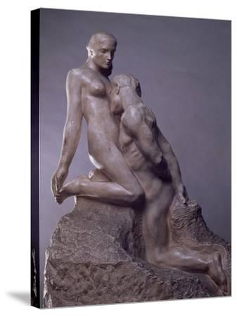The Eternal Idol by Auguste Rodin (1840-1917), C.1889--Stretched Canvas Print