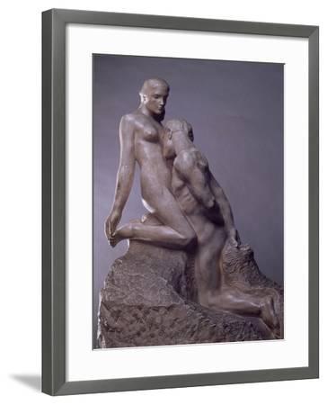 The Eternal Idol by Auguste Rodin (1840-1917), C.1889--Framed Giclee Print