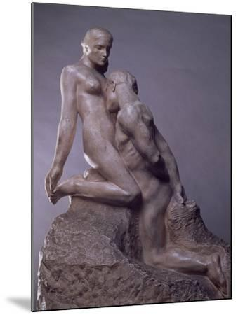 The Eternal Idol by Auguste Rodin (1840-1917), C.1889--Mounted Giclee Print