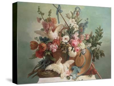 Peace, 1790-Jean-Baptiste Huet-Stretched Canvas Print