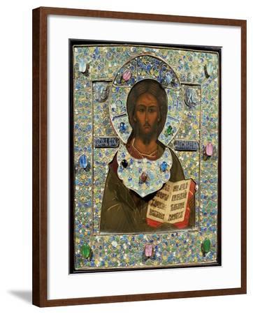 Christ Pantocrator, Icon--Framed Giclee Print