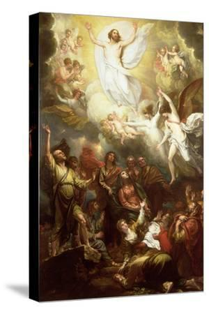 The Ascension-Benjamin West-Stretched Canvas Print