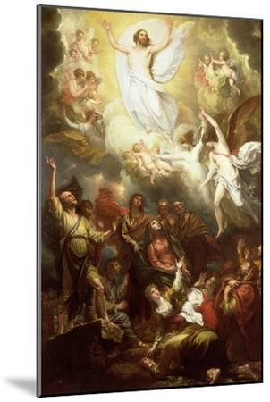 The Ascension-Benjamin West-Mounted Giclee Print