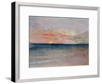 Sunset-J^ M^ W^ Turner-Framed Giclee Print