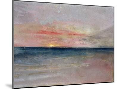 Sunset-J^ M^ W^ Turner-Mounted Giclee Print