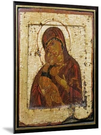 The Mother of God of Vladimir, Russian Icon, Pskov School,Late 15th Century--Mounted Giclee Print