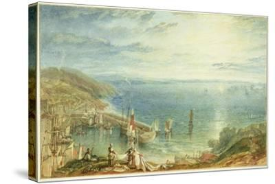 No.1790 Torbay from Brixham, C.1816-17-J^ M^ W^ Turner-Stretched Canvas Print