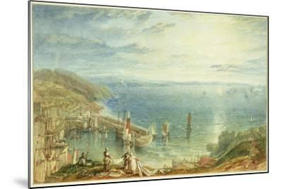 No.1790 Torbay from Brixham, C.1816-17-J^ M^ W^ Turner-Mounted Giclee Print