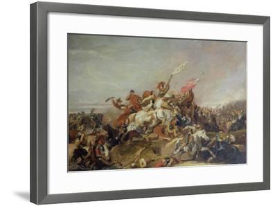 The Battle of Marston Moor in 1644, 1819-Abraham Cooper-Framed Giclee Print