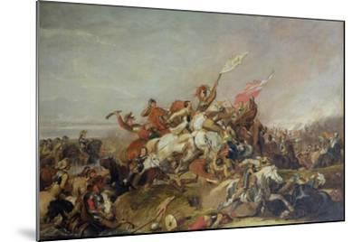 The Battle of Marston Moor in 1644, 1819-Abraham Cooper-Mounted Giclee Print