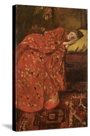 The Red Kimono-Georg-Hendrik Breitner-Stretched Canvas Print