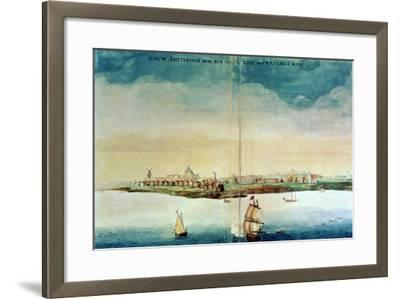 View of New Amsterdam, 1650-3--Framed Giclee Print