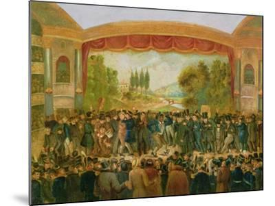 American Theatre, Bowery, New York, Depicting the 57th Night of Mr T.D. Jim Crow Rice (1808-60)…--Mounted Giclee Print